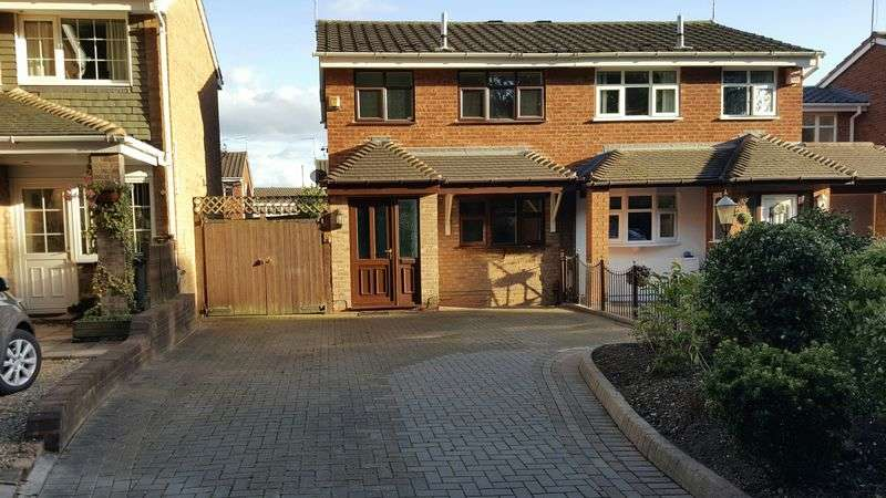 3 Bedrooms Semi Detached House for sale in Tenbury Close, Walsall
