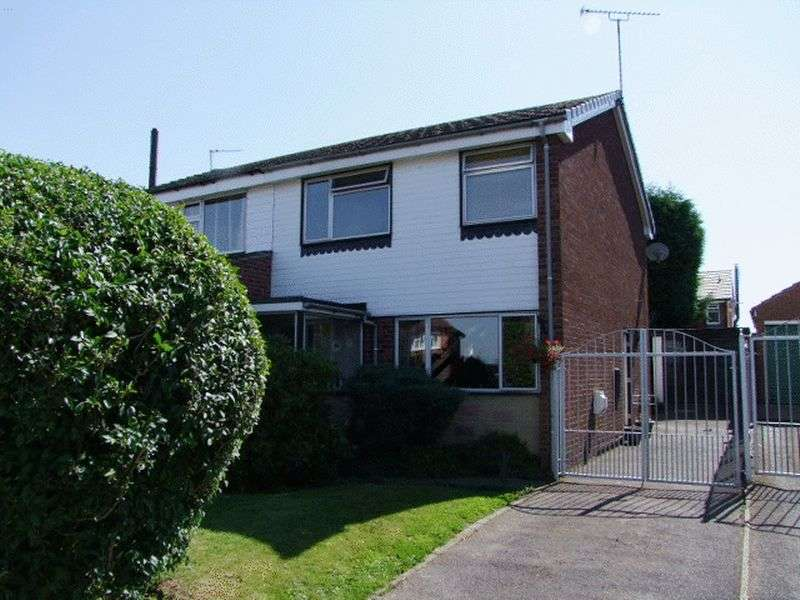 3 Bedrooms Semi Detached House for sale in Elms Road, Coton in the Elms