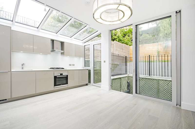 2 Bedrooms Flat for sale in Sherriff Road, West Hampstead, NW6