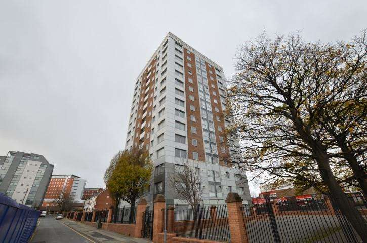 2 Bedrooms Apartment Flat for sale in Bispham House, Lace Street, Liverpool, Merseyside, L3