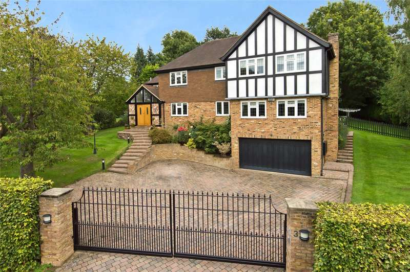 5 Bedrooms Detached House for sale in Parkfields, Oxshott, Leatherhead, Surrey, KT22