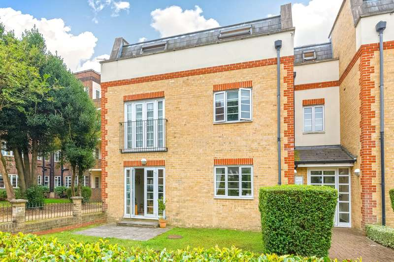 2 Bedrooms Flat for sale in Churton Place, Chiswick Village, London, W4