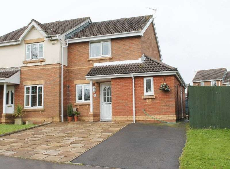 2 Bedrooms Semi Detached House for sale in Maes Y Wennol, Miskin, CF72 8SB