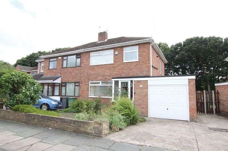3 Bedrooms Semi Detached House for sale in Prenton Farm Road, Prenton, Wirral