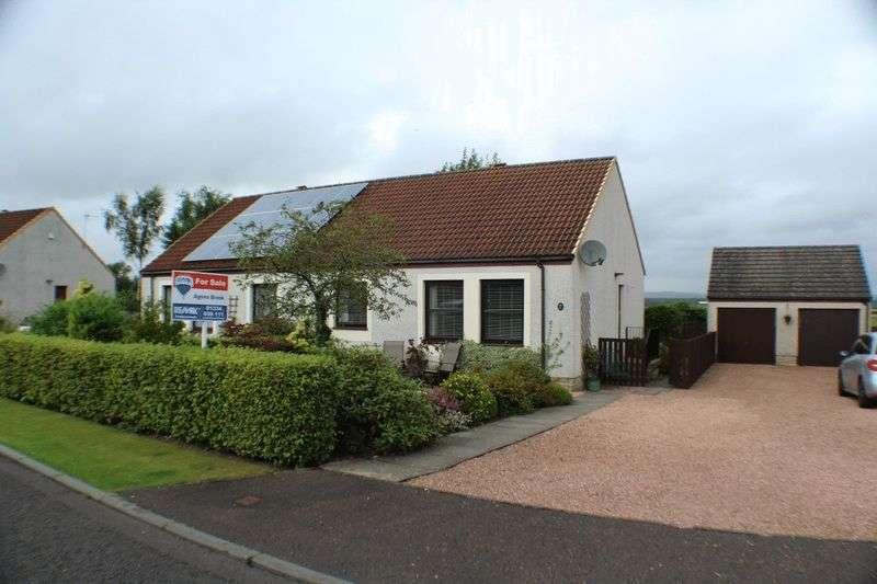 2 Bedrooms Semi Detached Bungalow for sale in 5a Christiegait, Freuchie, KY15 7EG