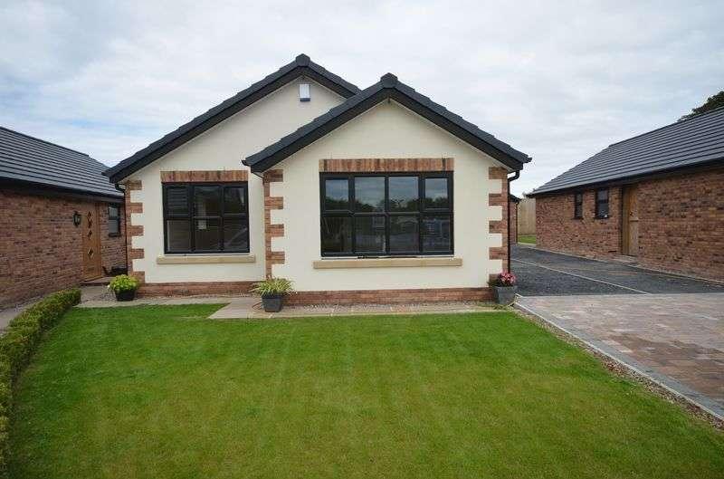 2 Bedrooms Detached Bungalow for sale in 3 Gezzerts Rise, Blackpool Old Road, Poulton Le Fylde Lancs FY6 7XE