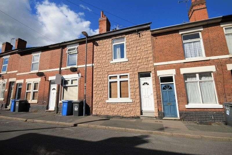 5 Bedrooms Terraced House for sale in ETWALL STREET, DERBY