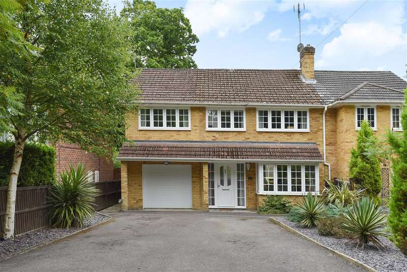 4 Bedrooms Semi Detached House for sale in New Wokingham Road, Crowthorne