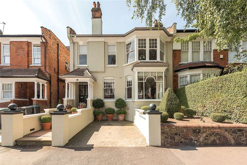 6 Bedrooms Terraced House for sale in Elms Avenue, Muswell Hill, London, N10