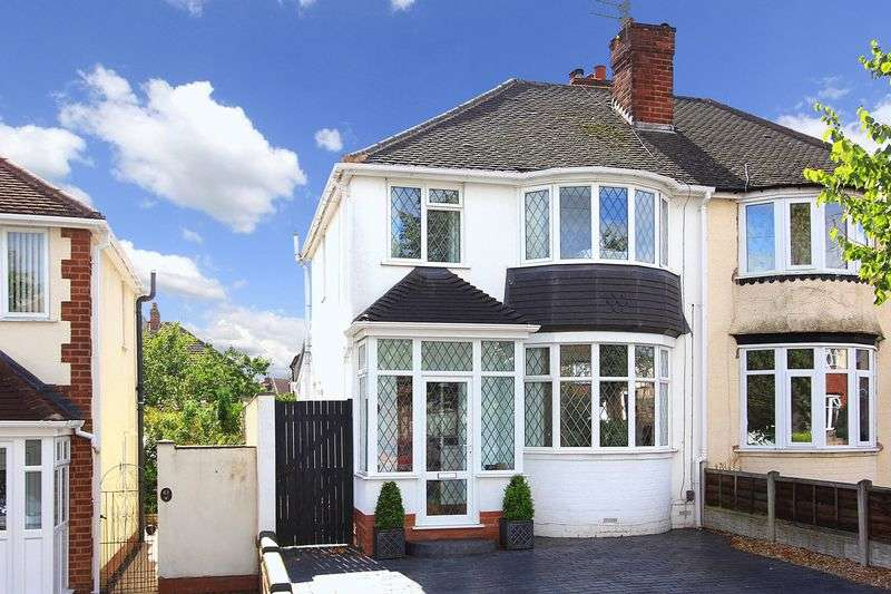 3 Bedrooms Semi Detached House for sale in PENN, Hilston Avenue