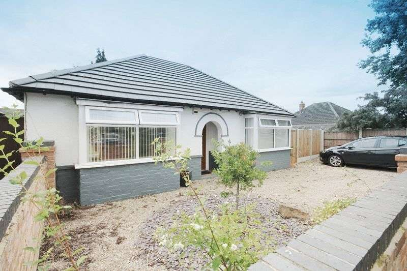 2 Bedrooms Detached Bungalow for sale in HOLBROOK ROAD, ALVASTON
