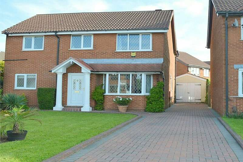 4 Bedrooms Detached House for sale in Wayfaring, Bolton, Lancashire, BL5