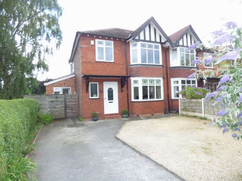 4 Bedrooms Semi Detached House for sale in Woodland Avenue Hazel Grove Stockport