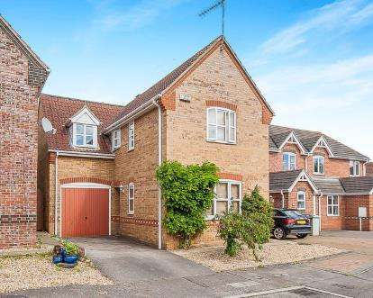 3 Bedrooms Detached House for sale in Madely Close, Horncastle, Lincs
