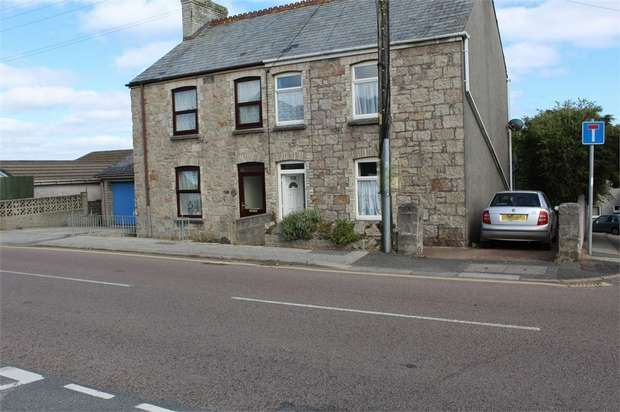 3 Bedrooms Semi Detached House for sale in Tregonissey Road, St Austell, Cornwall