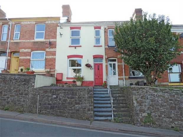 3 Bedrooms Terraced House for sale in Pitt Lane, Bideford, Devon