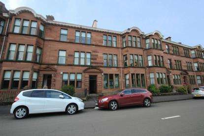 3 Bedrooms Flat for sale in Fotheringay Road, Pollokshields