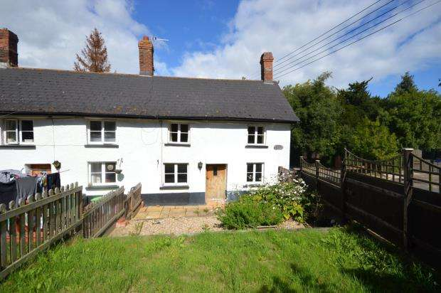 2 Bedrooms End Of Terrace House for sale in School Cottages, Village Road, Woodbury Salterton, Exeter
