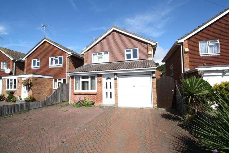 3 Bedrooms Detached House for sale in Taw Close, Durrington, West Sussex, BN13