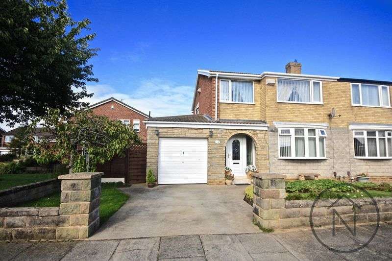 3 Bedrooms Semi Detached House for sale in Rudston Avenue, Billingham