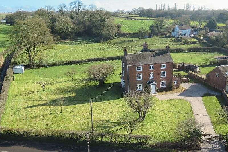 6 Bedrooms Detached House for sale in Mill Meece, Stafford