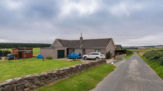 3 Bedrooms Bungalow for sale in Hillhead of Mountblairy, Forglen, Turriff, Aberdeenshire, AB53 4JT