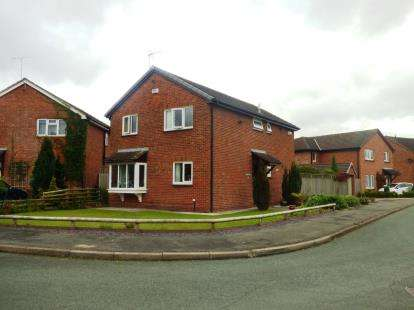 4 Bedrooms Detached House for sale in Columbine Close, Huntington, Chester, Cheshire, CH3