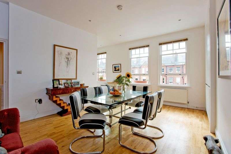 3 Bedrooms Flat for sale in Goldhurst Terrace South Hampstead London NW6