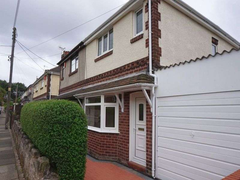3 Bedrooms Semi Detached House for sale in Barber Road, Chell, Stoke-On-Trent, ST6 6JL