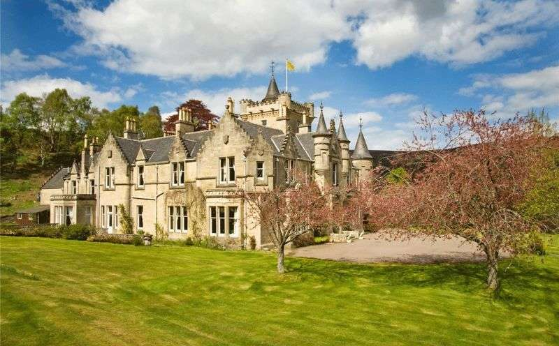 11 Bedrooms Property for sale in A superb example of a Scots Baronial mansion