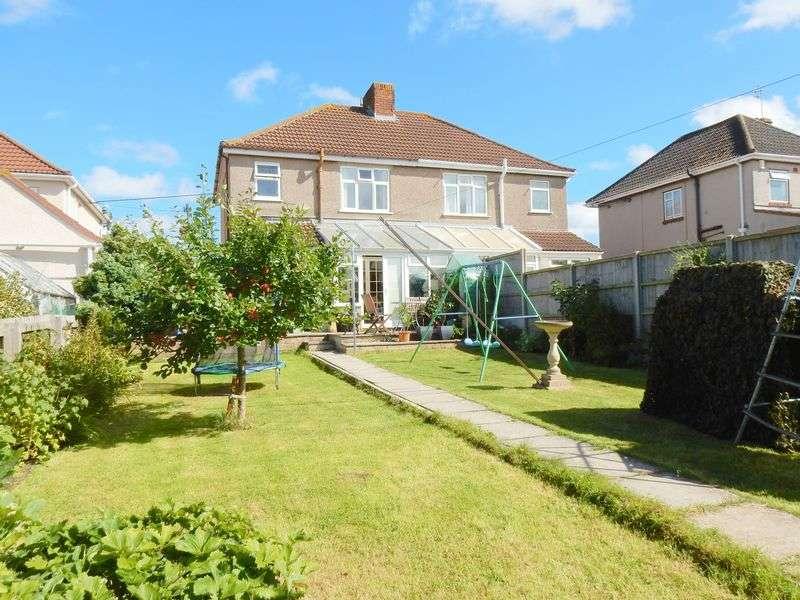 3 Bedrooms Semi Detached House for sale in Highridge Walk, Uplands, Bristol