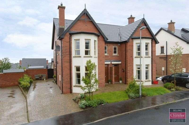 4 Bedrooms Semi Detached House for sale in 26 Bracken Hill Close, Belfast, BT8 6ZR