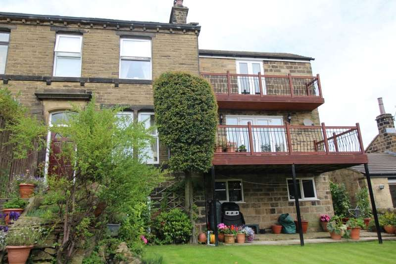 4 Bedrooms Semi Detached House for sale in Sheriff Lane, Bingley, BD16