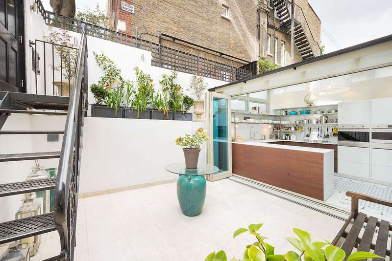 2 Bedrooms Flat for sale in Cheyne Row, London, SW3