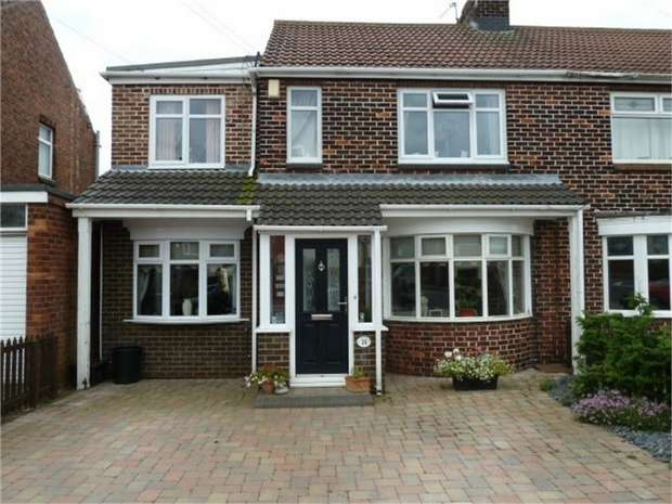 3 Bedrooms Semi Detached House for sale in Sandwick Terrace, Wheatley Hill, Durham