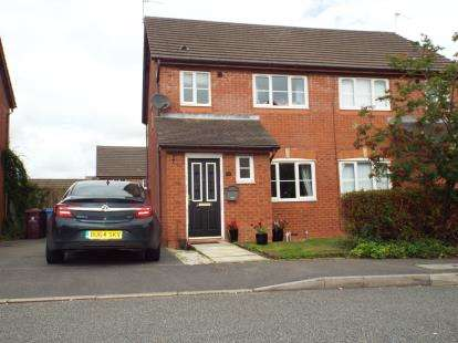 3 Bedrooms Semi Detached House for sale in Yoxall Drive, Kirkby, Liverpool, Merseyside, L33