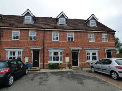 3 Bedrooms Terraced House for sale in The Fieldings, Sutton-in-Ashfield