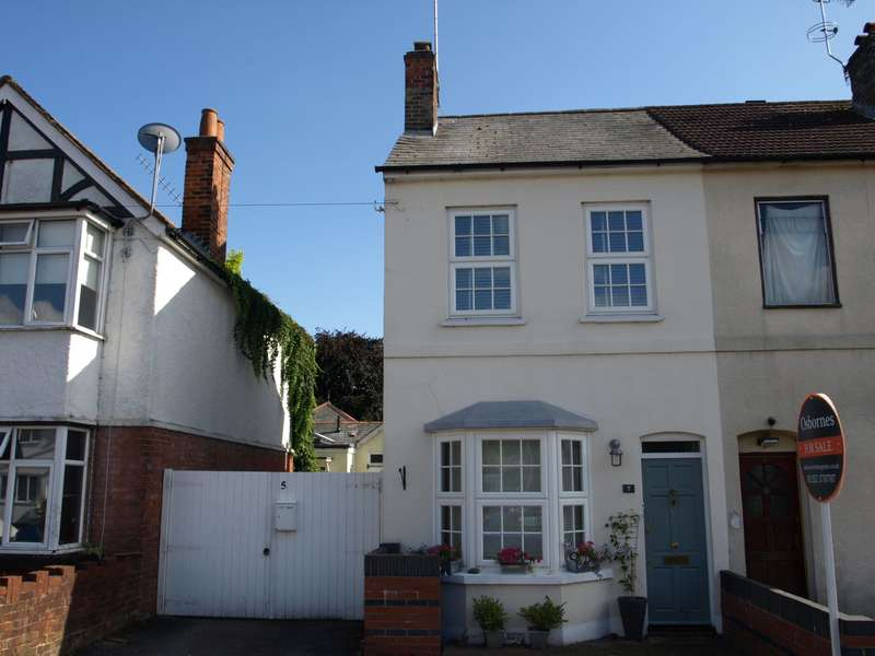 3 Bedrooms End Of Terrace House for sale in Cross Street, Farnborough, GU14