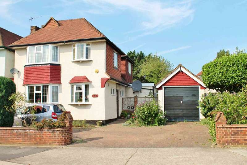 4 Bedrooms Link Detached House for sale in Amberwood Rise, New Malden