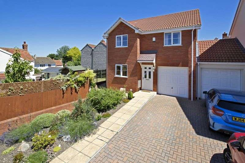 4 Bedrooms Detached House for sale in Anchorage Court, Puriton
