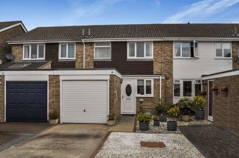 3 Bedrooms Terraced House for sale in Chaunterell Way, Abingdon