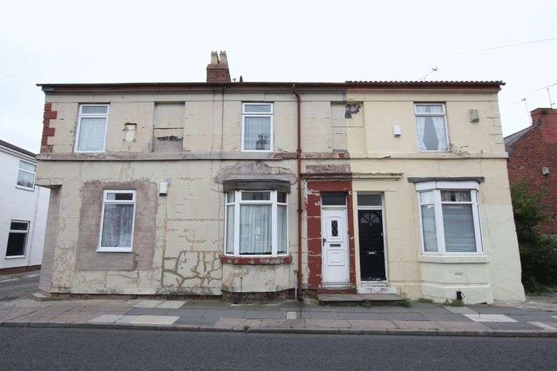 2 Bedrooms Terraced House for sale in Derby Road, Tranmere, Wirral