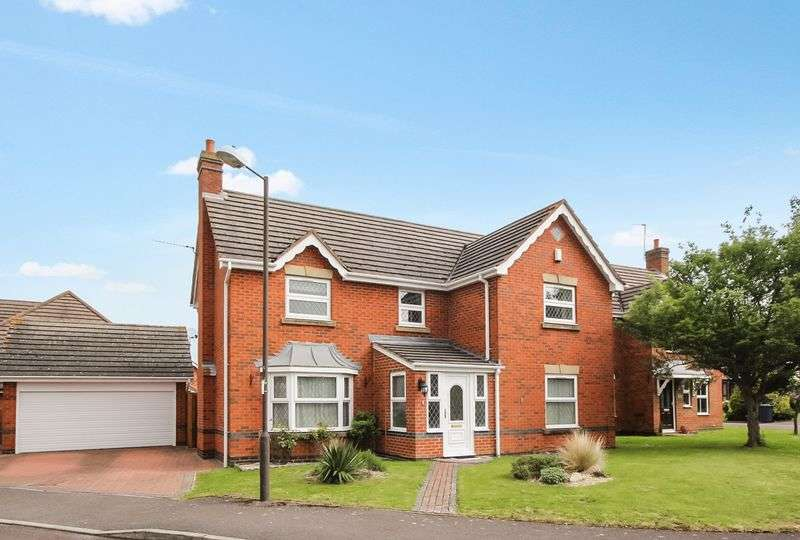 4 Bedrooms Detached House for sale in Willow Park Drive, Cheltenham