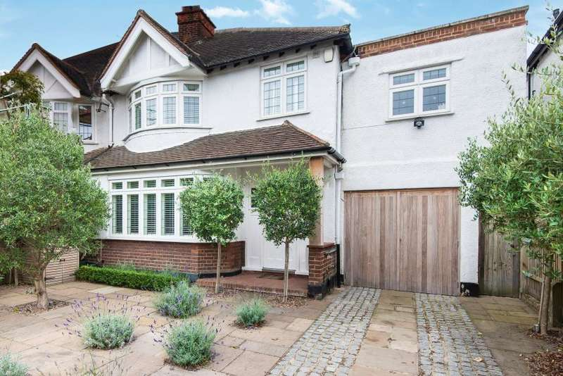 4 Bedrooms Semi Detached House for sale in Kinnaird Avenue, Chiswick W4