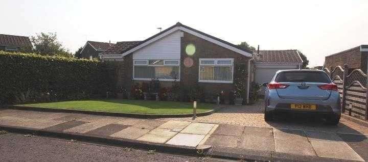 2 Bedrooms Bungalow for sale in Gresham Close, Southfield Green, Cramlington