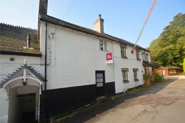 2 Bedrooms Terraced House for sale in 46 Wesley Road, Ironbridge, Shropshire