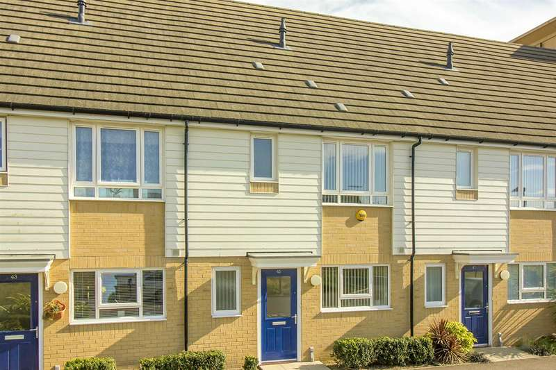 3 Bedrooms Terraced House for sale in Meridian Close, Ramsgate