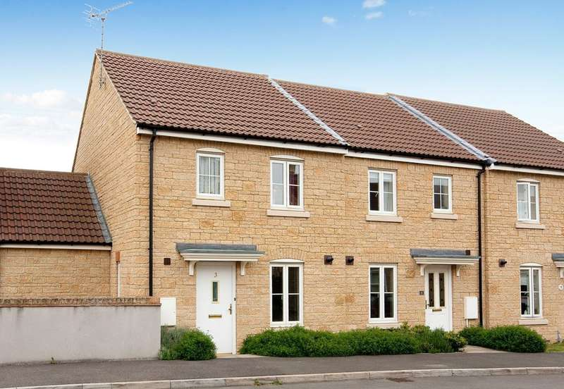 3 Bedrooms End Of Terrace House for sale in Picked Mead, Corsham