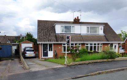 3 Bedrooms Semi Detached House for sale in Ashcroft Avenue, Shavington, Crewe, Cheshire