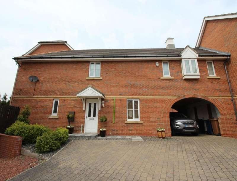 4 Bedrooms Semi Detached House for sale in Kineton Way, Hawksley Grange, Sunderland, SR2